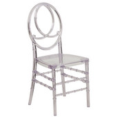 Grace Crystal Stackable Chair, 16-1/4''W x 17-3/4''D x 36''H