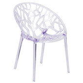 Leisure Crystal Stackable Chair, 17-3/4''W x 23-1/4''D x 31''H