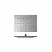 Spring RC-300/400 Top-Mounted Rectangular Shower Head, Chrome, 15-3/4''W x 11-3/4''D x 2-1/2''H