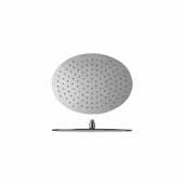 Spring OV-300/400 Top-Mounted Oval Shower Head, 15-3/4''W x 11-3/4''D x 2-1/2''H