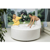 Allegra™ Freestanding Acrylic Bathtub, High Gloss White, 74-3/4'' Diameter x 26-3/4'' H