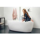 PureScape™ Relax Air Massage Oval Bathtub, White, 68-3/4'' W x 32-3/4'' D x 23-1/2'' H