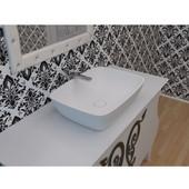 Arabella™ Stone Vessel Sink, White, 21-3/4'' W x 15-3/4'' D x 6'' H