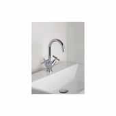 Celine 7'' Single Hole Sink Faucet, Chrome
