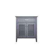 Kensington 30'' Single Base Cabinet In Grey, 30''W x 21-1/2''D x 33-1/2''H