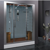 Platinum Collection Steam Shower in White, 59'' W x 32'' D x 87-2/5'' H