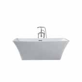 Platinum Sedona 67'' Freestanding Bathtub, White
