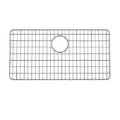 KRAUS Dex™ Series 28-5/8'' W Stainless Steel Kitchen Sink Bottom Grid with Soft Rubber Bumpers