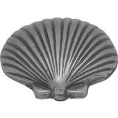 Treasures Collection Knob Fan Shell, Vibra Pewter Finish, 1-1/2'' diameter