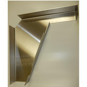 Imported ADA Vanity Bracket 21'' Aluminum for 22'' to 24'' Countertop, Sold As Pair