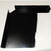 Imported ADA Vanity Bracket 23'' in Black for 24'' to 26'' Countertop, Sold As Pair