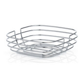 Sonora Collection Wire Basket in Chrome Plated, 10-3/32'' W x 10-3/32'' D x 3-5/64'' H