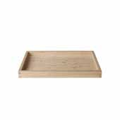 Borda Collection Oak Tray, Medium, 8''W x 12''D x 1''H