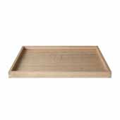 Borda Collection Oak Tray, Large, 12''W x 16''D x 1''H