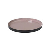 Viso Collection Tray Large Rose Dust , 11-13/16''W x 12-5/8''D x 3-3/8''H