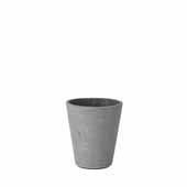 Coluna Collection Flower Pot, Small, 4''Dia x 5''H