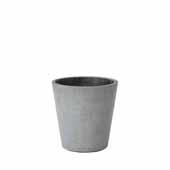 Coluna Collection Flower Pot, Medium, 5''Dia x 6''H