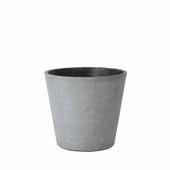 Coluna Collection Flower Pot, Large, 6''Dia x 7''H