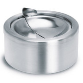 Ashtray With Lid, 12cm (4-7/10'')