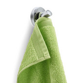 Uno Collection Wall Hook in Satin Stainless Steel, 2-1/4'' Diameter x 1-55/64'' H