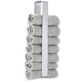 Nexio Vertical Stacking Guest Towel Holder, Brushed Stainless Steel, 3-1/8''W x 1-3/4''D x 18-1/2''H