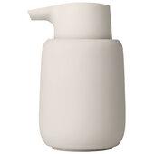 Sono Collection Soap Dispenser, Moonbeam, 3-3/8''W x 3-11/16''D x 5-11/16''H
