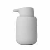 Sono Collection Soap Dispenser, Microchip, 3-3/8''W x 3-11/16''D x 5-11/16''H