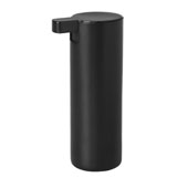 Modo Collection 6oz Soap Dispenser Black Titanium Coated, 3''W x 2-3/16''D x 6-5/16''H