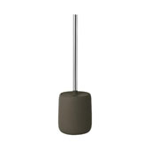Sono Collection Toilet Brush Tarmac in Olive, 4-1/2''W x 4-1/2''D x 15-3/8''H