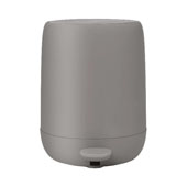 Sono Collection Pedal Bin Wastepaper Basket Satellite (Taupe) 1.32 Gallon, 10-3/16''W x 9-7/16''D x 12-3/16''H