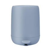 Sono Collection Pedal Bin Wastepaper Basket Ashley Blue 1.32 Gallon, 10-3/16''W x 9-7/16''D x 12-3/16''H