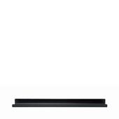 Modo Wall Shelf Black Large 28'' W x 4-5/16'' D x 1-13/16'' H