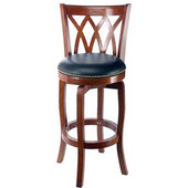 29'' ''Cathedral'' Bar Stool in Cherry Finish