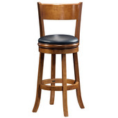 29'' ''Palmetto'' Bar Stool in Fruitwood Finish