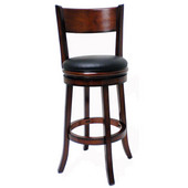 29'' ''Palmetto'' Bar Stool in Brandy Finish