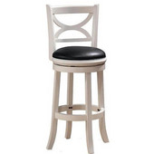 29'' ''Florence'' Bar Stool in White Sandthru Finish