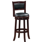 29'' ''Augusta'' Bar Stool in Cappuccino Finish