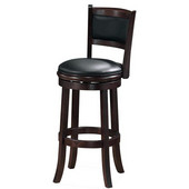 29'' ''Augusta'' Bar Stool in Light Cherry Finish