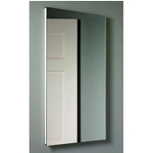 Jensen (Formerly ) Bathroom Medicine Cabinets, 16'' W x 36'' H, Flat Mirror, 4 Glass Shelves