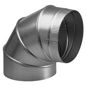Round Elbow Ducting Accessory, Different Sizes Available