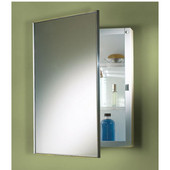 Jensen (Formerly ) Styline Recessed Mount Medicine Cabinet, w/ Steel Body, 16-1/8''W x 4-1/2''D x 22-3/16''H