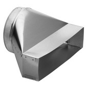 Round Transition Ducting Accessory, Different Sizes Available