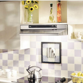 Economy 46000 Series 30'' Under Cabinet Mount Range Hood in Stainless, 190-220 CFM