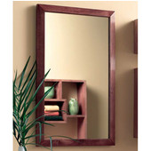 Jensen (Formerly ) City Collection Contemporary Chestnut Framed Recessed Medicine Cabinet
