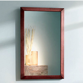 Jensen (Formerly ) City Collection Contemporary Cherry Framed Recessed Medicine Cabinet