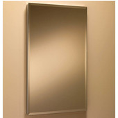 Jensen (Formerly ) Solid Stainless Steel Frameless Medicine Cabinet, Beveled Edge