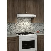 Alta BQLA1 Series, 30'' Under Cabinet Range Hood, 400 CFM, <0.5 Sones, White, 29-7/8'' W x 22'' D x 5'' H, Available in Multiple Sizes