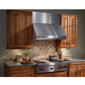 Elite Wall Canopy Rangehood, 600 - 1200 CFM, Stainless Steel, 30'' - 48'' Widths Available