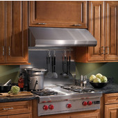 Elite Rangehood, Under Cabinet Mount, 600 CFM, Stainless Steel, 30'' - 48'' Widths Available, 600-1200 CFM Interior Blower Options
