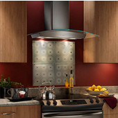 Elite Wall Mount Chimney Range Hood, 500 CFM, Stainless Steel, 30'' & 36'' Widths Available